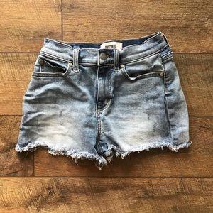 Pink Victoria's Secret Cutoff Denim Shorts